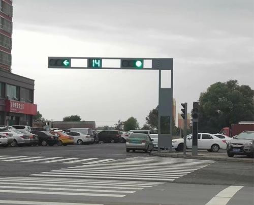 西安道路红绿灯安装