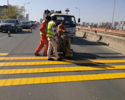 延安道路交通标线施工