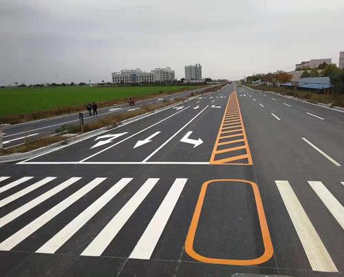 渭南道路标线