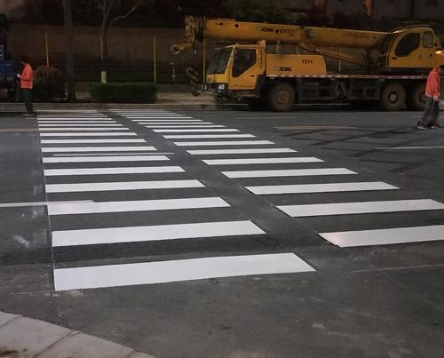 汉中道路标线