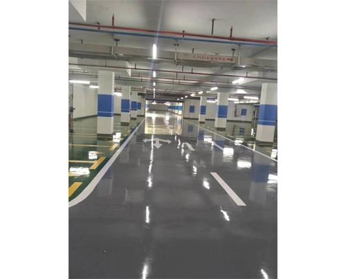 铜川停车场划线